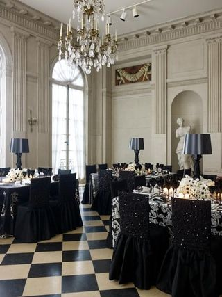 Halloween Gothic Reception -Brides Cafe