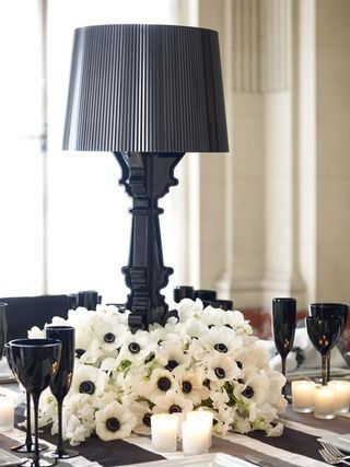 Halloween Gothic Tablescape- Brides Cafe