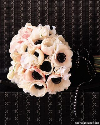 Halloween Black Tie Bouquet-Martha Stewart