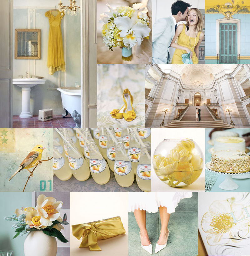 341-mustard-yellow-pale-turquoise-blue-modern-whimsical-wedding-inspiration-board