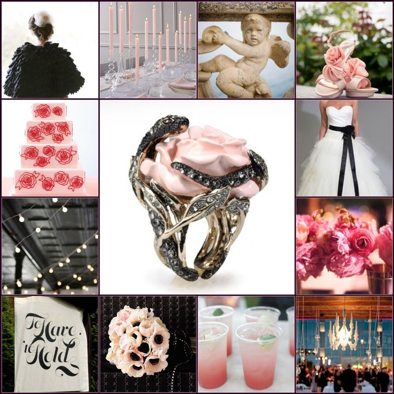 Rose and Serpent Wedding Inspiration