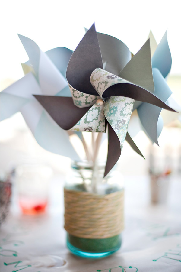 Pinwheel Centerpiece from SMP