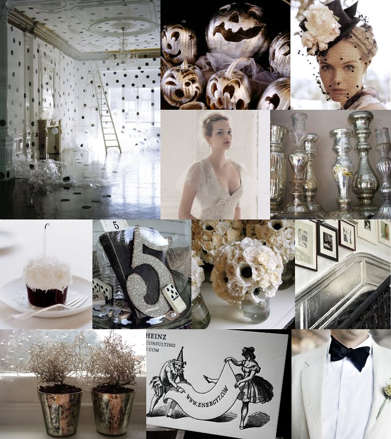 Whimsical-silver-and-black-halloween-ideas