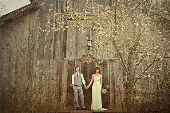 Barn Door Couple from 100 Layer Cake