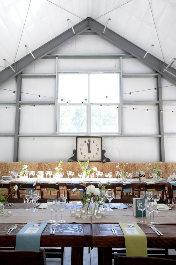 White Barn from Style Me Pretty