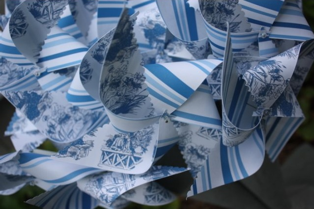 Toille and strip pinwheels from pinwhirls