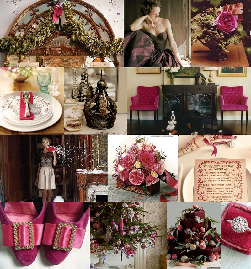 Christmas Wedding Colors.From Hello To Hitched Decor