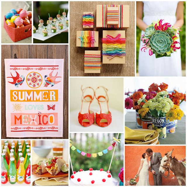 Tacos and tequila inspiration board _ cinco de mayo _ wedding
