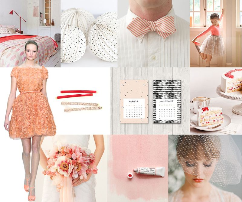 Coral-white-wedding-palette