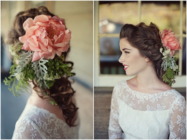 Vintage-Wedding-Dresses-Colourful-Floral-Accessories-Love-Life-Studios-24